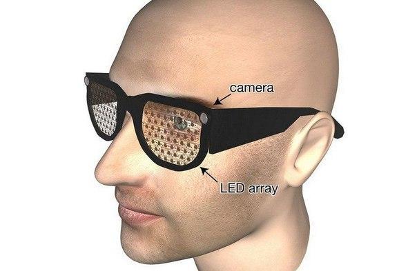 Новые очки помогут слепым вернуть зрение