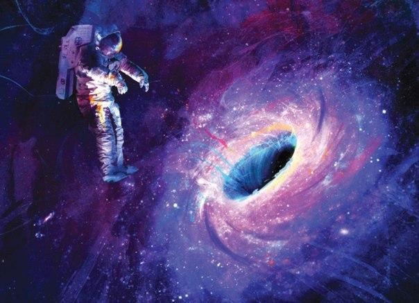10 жутких предположений о том, что случится, если вы попадете в черную дыру
