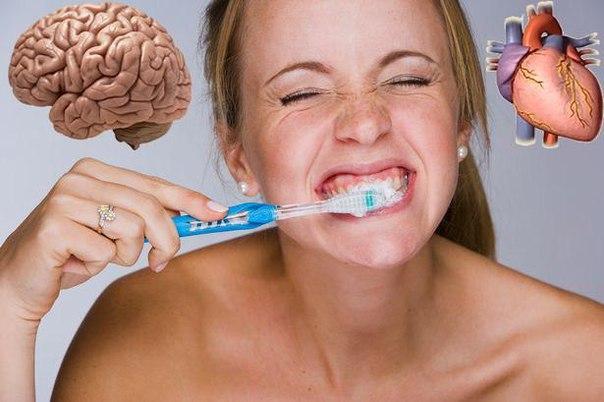 Стоматологические заболевания угрожают мозгу и сердцу