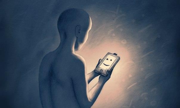 Смартфоны определяют депрессию