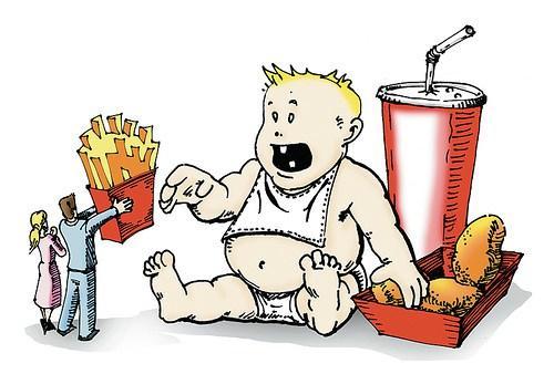 Мультфильмы с героями-толстяками - причина ожирения