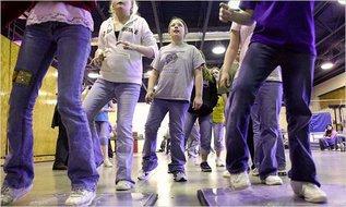 Танцы не помогут вашим детям похудеть